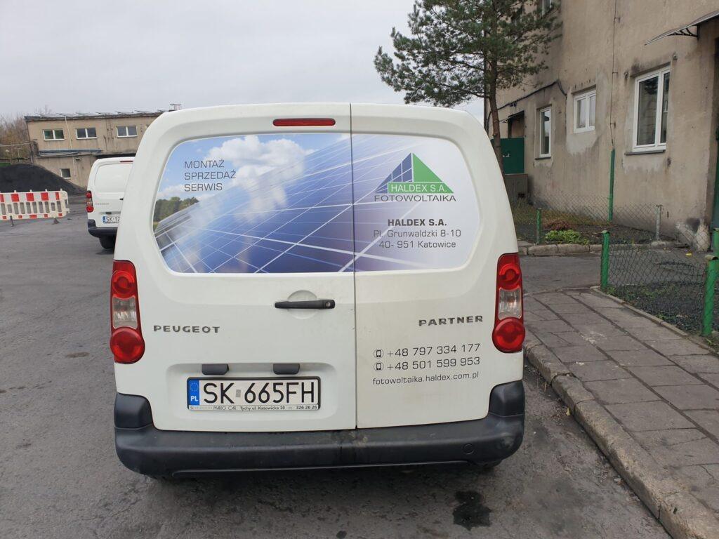 Haldex Oklejanie samochodów FUX Gliwice